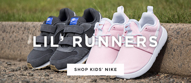 shop kids nike trainers including the md runner and the roshe run at schuh