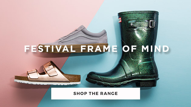browse our festival shop for men and women at schuh