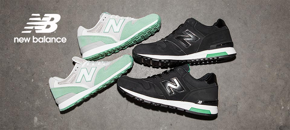 shop womens and mens new balance in green and black at schuh >>