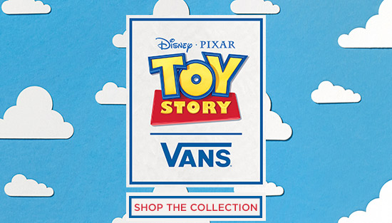 shop the Vans X Toy Story range at schuh and choose from trainers to accessories