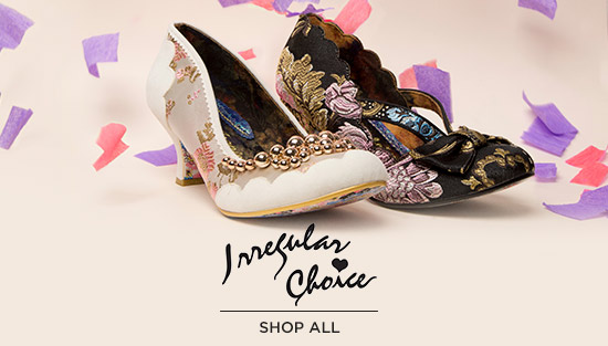 shop all womens Irregular Choice high heels and low heels at schuh