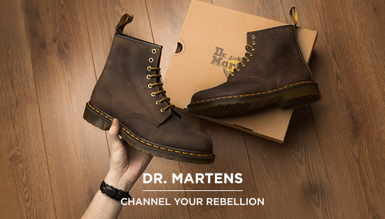 shop our range of men's dr martens boots and shoes at schuh