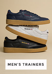 shop mens trainers including reebok at schuh