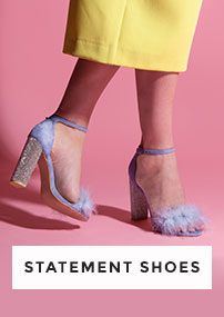 be bold with our selection of statement shoes, heels, trainers & more at schuh