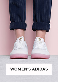 shop the full collection of women's adidas including the white & pink samba