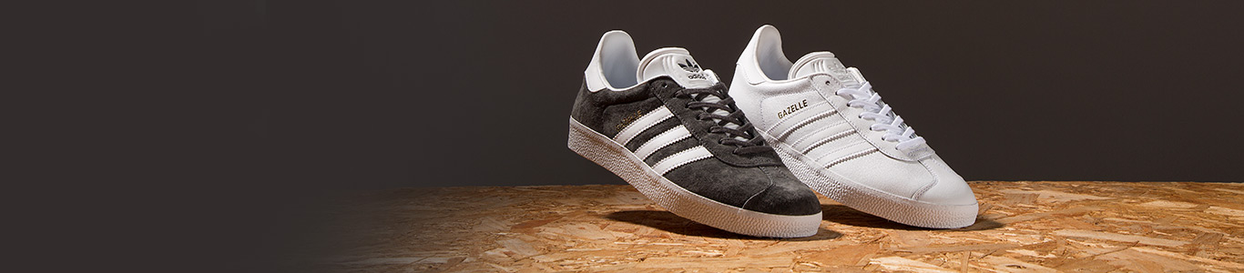 shop men's, women's and kids adidas gazelle trainers at schuh