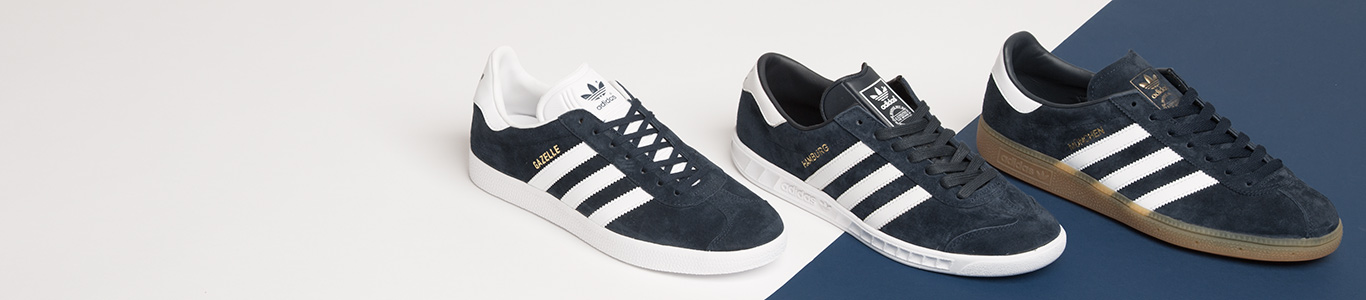 shop all adidas shoes at schuh and choose from the Gazelle, Munchen, Hamburg & more