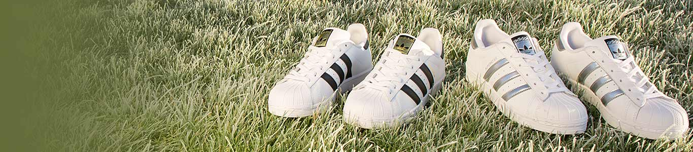 shop mens, womens and kids adidas superstar trainers at schuh