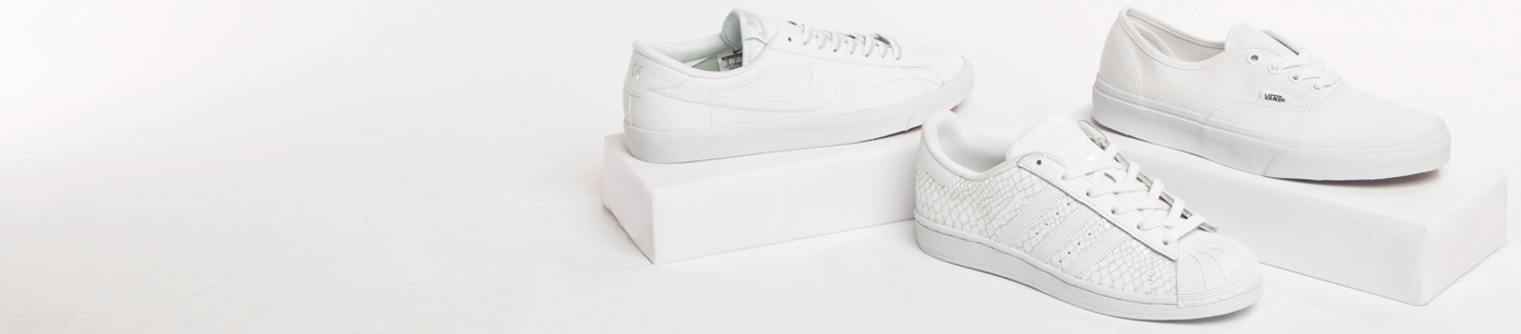 shop mens and womens all white trainers from adidas nike vans and more at schuh