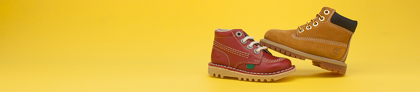 shop boys boots from timberland, kickers and more at schuh