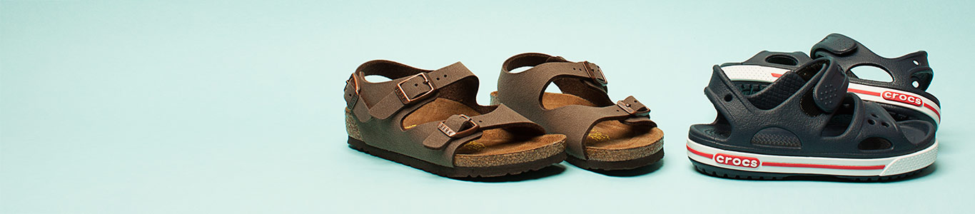 shop boys sandals at schuh from birkenstock to crocs and more
