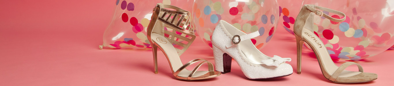 shop womens wedding shoes from missguided, red or dead, schuh and more