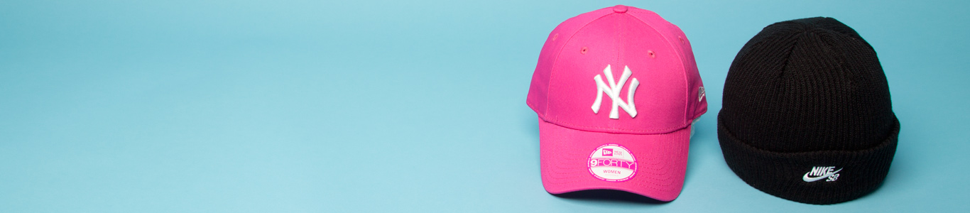 shop all caps and hats at schuh and choose from New Era, Nike SB & more