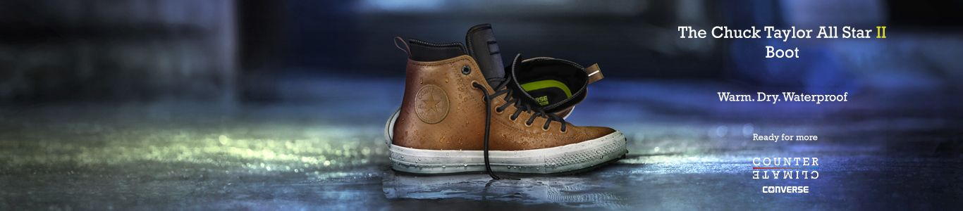 Shop converse chuck II waterproof boots at schuh