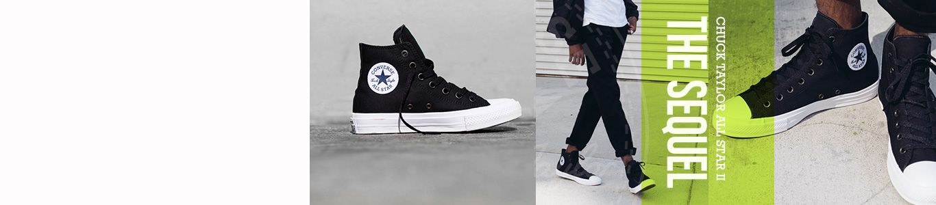 shop mens, womens and kids converse including the chuck taylor II at schuh