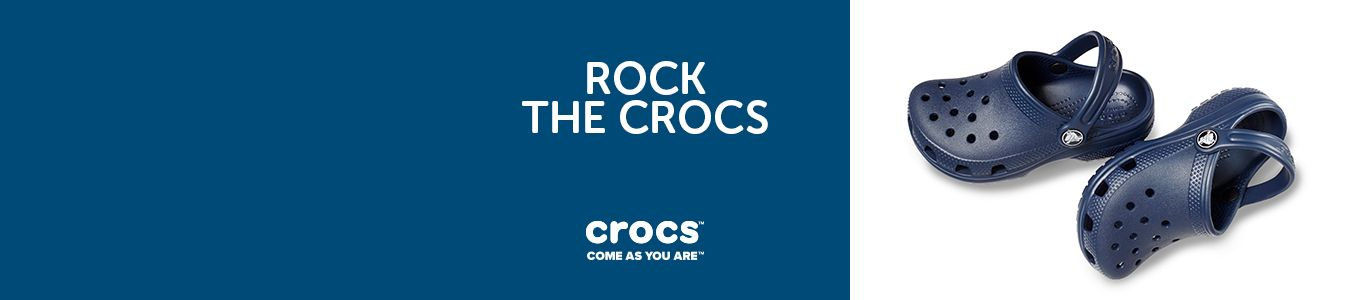 shop mens,womens and kids crocs including classic clog in navy at schuh