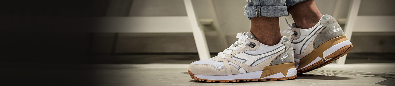 shop all womens and mens Diadora trainers and shoes including the N9000 III at schuh