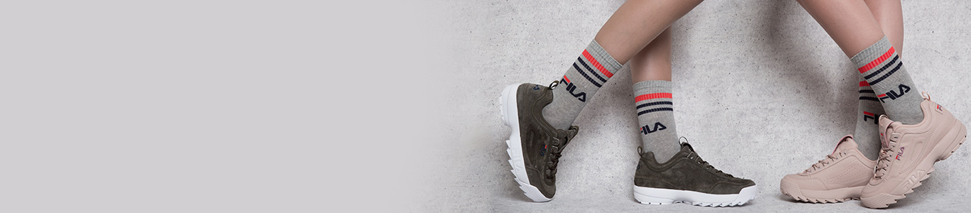 shop our full range of fila trainers including the disruptor low at schuh