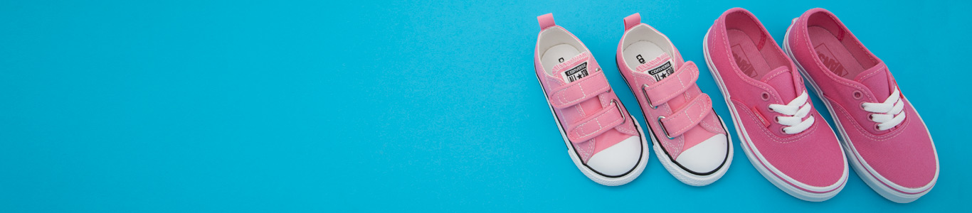 shop kids canvas shoes including converse and vans for girls at schuh
