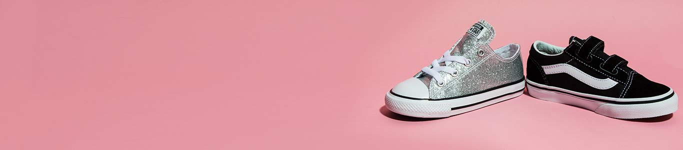 shop our range of girls shoes at schuh with brands including vans, converse & many more