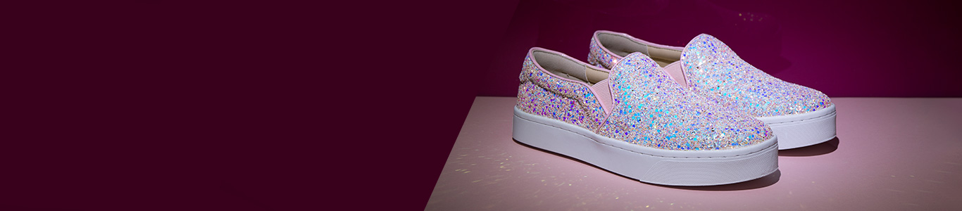 take a look at our range of glittery shoes with styles including trainers, heels & more at schuh