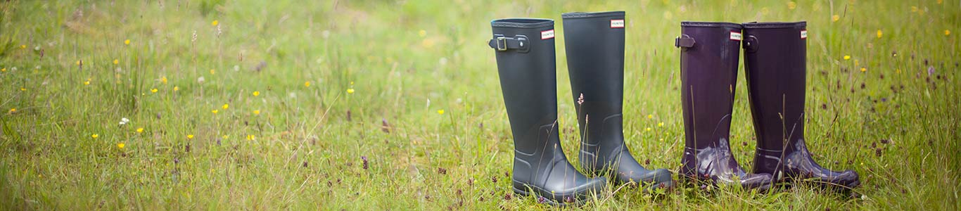 shop mens and womens Hunter wellies, boots and more at schuh