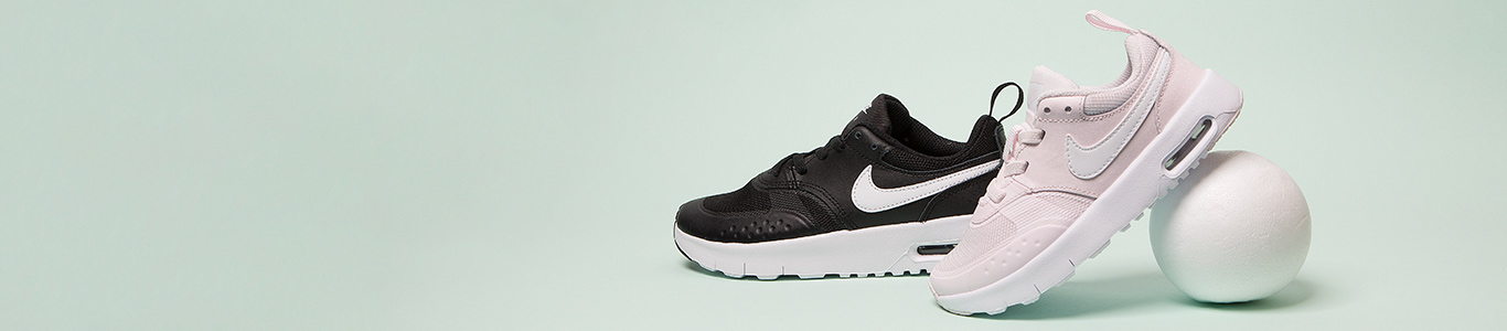 shop our full range of kids' trainers including the nike air max vision at schuh