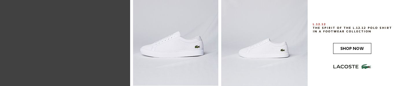 shop all womens, mens & kids Lacoste shoes and trainers at schuh