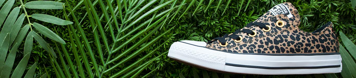 release your inner animal with our range of women's leopard print shoes from brands including converse and more at schuh