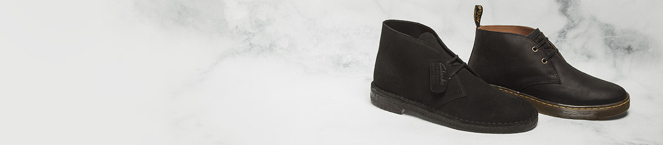 shop mens black boots at schuh from Dr Martens, Clarks & more
