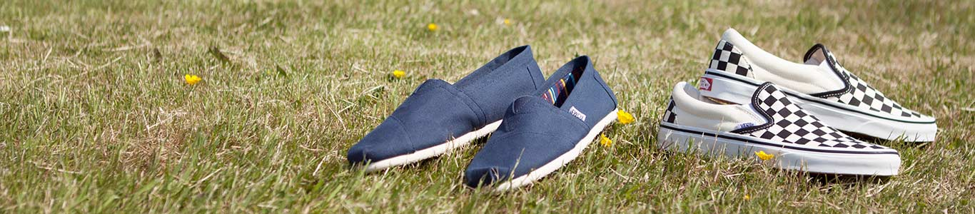 shop mens slip on shoes from Vans TOMS and more at schuh