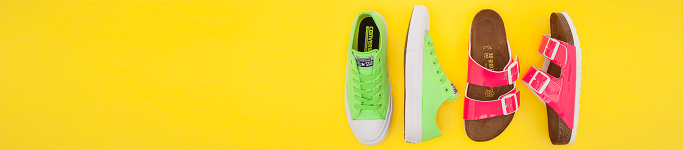 shop womens neon shoes at schuh from Converse Birkenstock and more