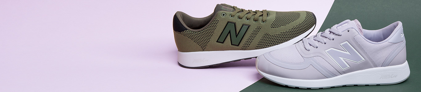 shop men's, women's & kids' new balance trainers including the re-engineered 420