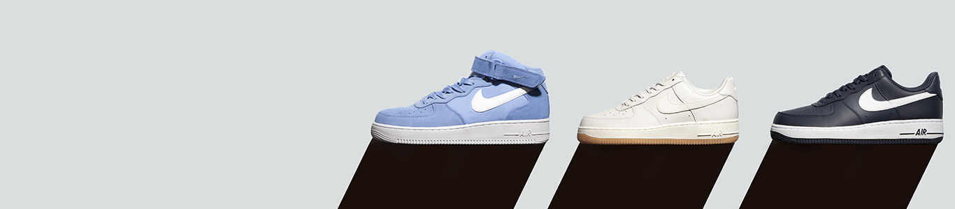 shop mens, womens and kids nike air force 1 trainers at schuh