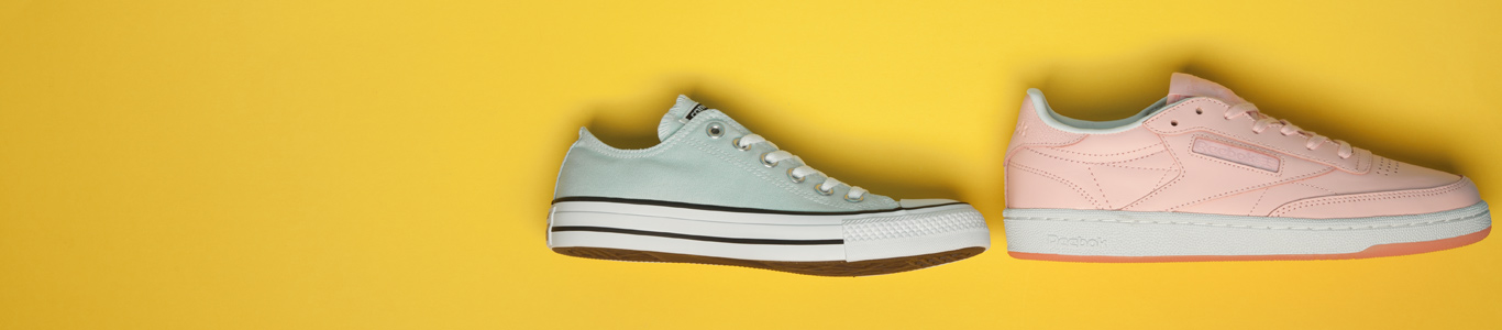 shop womens pastel trainers and shoes at schuh
