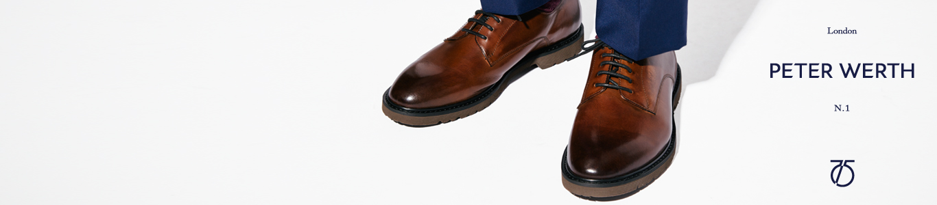 shop all mens Peter Werth shoes, brogue and more at schuh