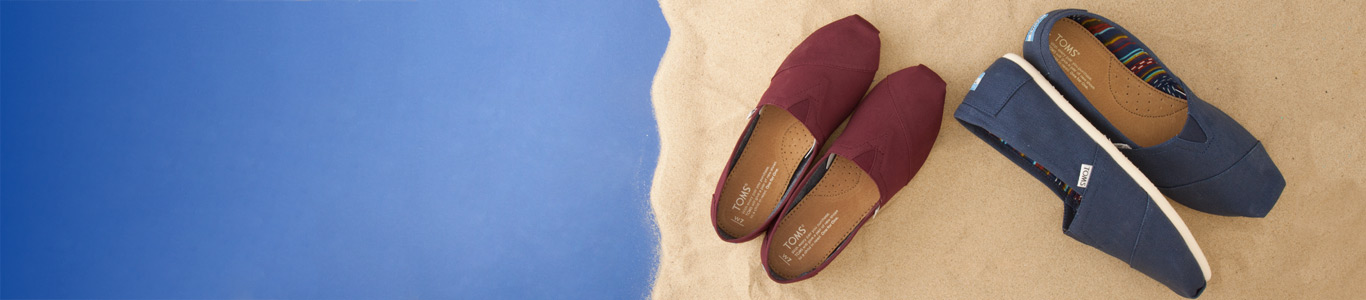 shop mens and womens TOMS shoes at schuh