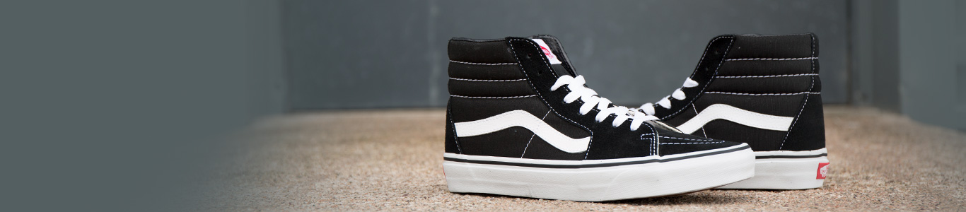 shop our range of women's hi tops at schuh including the vans sk8-hi