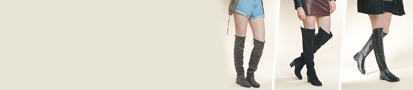 shop womens over the knee boots at schuh