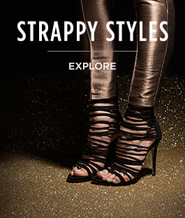 shop women's strappy high heels at schuh