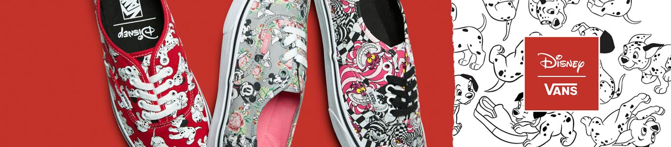 see the Disney X Vans collaboration