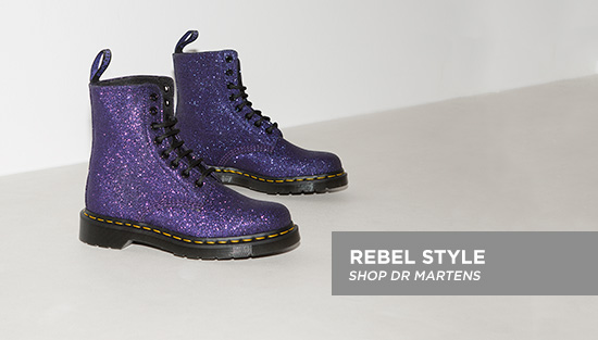 shop our full range of women's dr martens boots including the pascal 8-eye boot glitter at schuh