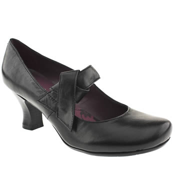 womens hush puppies black philippa high heels