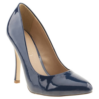 womens schuh navy majestic high heels