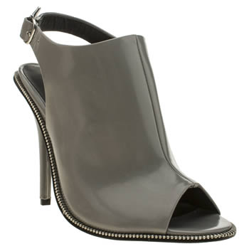 Womens Schuh Dark Grey Birthday Bash High Heels