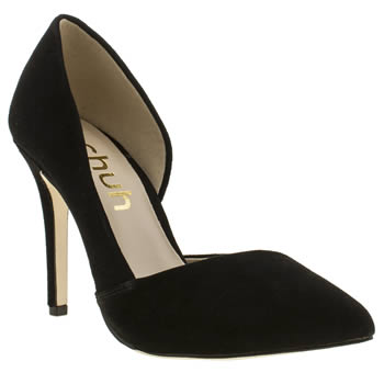 Womens Schuh Black Mega Hot High Heels