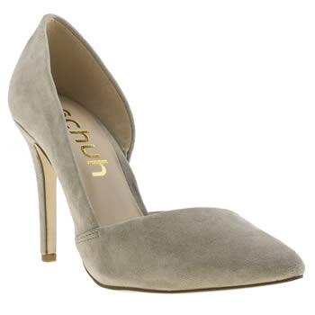 Womens Schuh Grey Mega Hot High Heels