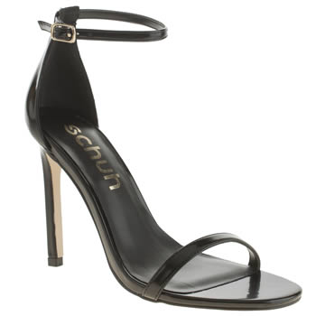 Womens Schuh Black Bashment High Heels