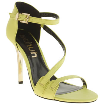 Schuh Yellow Talk That Talk High Heels