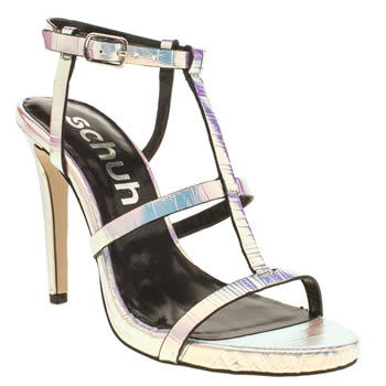 Womens Schuh Silver Secret High Heels